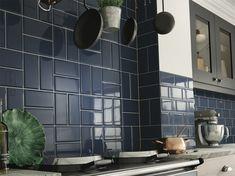 Deep Metro Dark Blue 100x200 #spring #sale #metro #DIYweekend #bargain #interior #kitchen