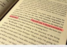 """Looking for Alaska by John Green """"Never use a highlighter in my books. Good Books, Books To Read, My Books, Reading Books, Coffee Quotes Funny, John Green Books, Favorite Book Quotes, Looking For Alaska, Funny Jokes For Kids"""