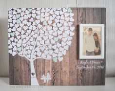 New Pic Wedding Tree Guest Book - Wedding Guestbook - Alternative Wedding Guestbook - Signature Tree Guestbook - Unique Guestbook Ideas Suggestions when getting particular wedding gifts for newlyweds, specific gifts that can be kept for decades mi Wedding Tree Guest Book, Guest Book Tree, Tree Wedding, Wedding Signs, Diy Wedding, Rustic Wedding, Wedding Day, Guest Books, Wedding Gold