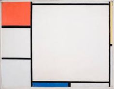 Mondrian - Compositon with red, yellow, blue