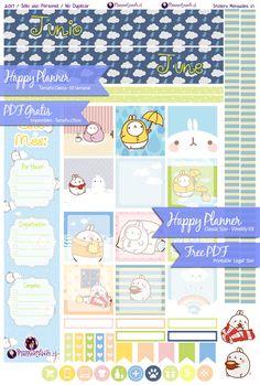 Free June Planner Stickers