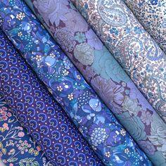 Liberty Fabric Tana Lawn 6 Scraps Selection 541 | Alice Caroline - Liberty fabric, patterns, kits and more - Liberty of London fabric online
