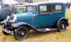 1931 Ford Model A 55B De Luxe Tudor