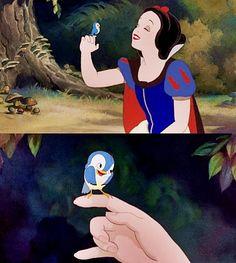 Snow White, my favorite! !!!