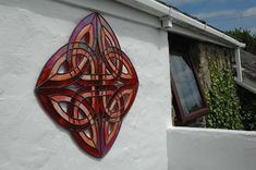 Exterior Wall Art - Stained Glass Art