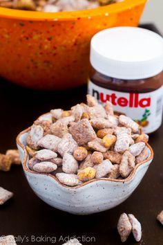puppy chow, salt peanut, appet, puppi chow, peanut nutella, food, nutella puppi, snack, dessert