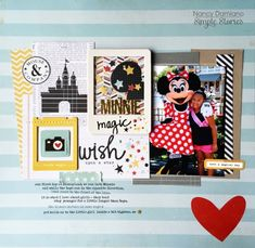 Layout created by design team member Nancy Damiano using our Say Cheese II collection