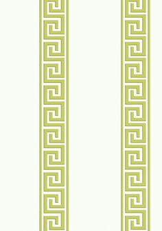 ANDREAS STRIPE, Green, T14240, Collection Imperial Garden from Thibaut