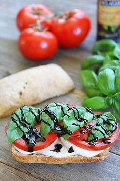 Caprese Sandwich-we love this classic sandwich! Perfect for summertime!