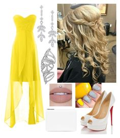 """Yellow beauty"" by paoladouka on Polyvore featuring Christian Louboutin, KC Designs and Maison Margiela"