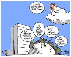 Brasil Impeachment - Latuff