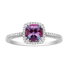 Fred Myers Alexandrite June Birthstone Ring.  would be a pretty replacement eventually for the one that i lost at college.