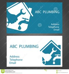 plumbers business cards - Google Search