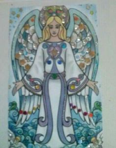 Angel decorado