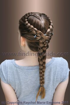 Heart Braid Hair Hair Styles Hair Braids pertaining to measurements 2336 X 3504 Heart Braid Hairstyles - Braid hairstyles are cute and sexy, and they are Baby Girl Hairstyles, Cool Braid Hairstyles, Creative Hairstyles, Pretty Hairstyles, Braid Styles, Short Hair Styles, Girls Long Hair Styles, Heart Braid, Girl Hair Dos