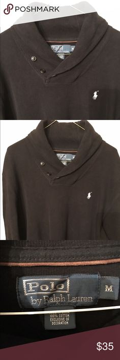Polo 100 percent cotton sweater excellent cond!! Very nice 100% cotton polo pullover sweater in excellent condition. No rips or tears or stains! Polo by Ralph Lauren Sweaters