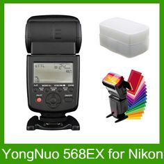 (97.50$)  Buy here - http://aixyz.worlditems.win/all/product.php?id=32658020123 - Yongnuo YN-568EX for Nikon YN 568Ex HSS Flash Speedlite YN 568 D800 D700 D600 D200 D7000 D90 D80 D5200 D5100+ 12 Pcs Color Cards
