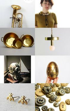 Brass Beauties by Nikki on Etsy--Pinned with TreasuryPin.com