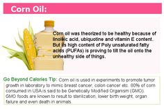 The problem with Corn Oil Healthy Cooking, Get Healthy, Healthy Foods, Healthy Recipes, Healthy Food Choices, Healthy Options, Low Carb Recipes, Real Food Recipes, Economics 101