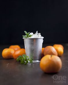 Clementine Mint Julep