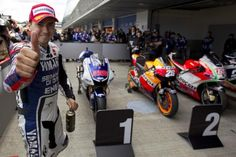 Jorge Lorenzo gets the pole position in Jerez
