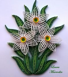 quilling my passion: Narcise/Daffodils