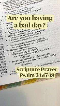 Prayer Scriptures, Bible Prayers, Bible Verses Quotes, Faith Quotes, Bible Study Notebook, Bible Study Tips, Spiritual Growth, Spiritual Quotes, Bible Verse Search