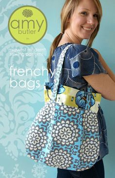 Frenchy Bags sewing pattern
