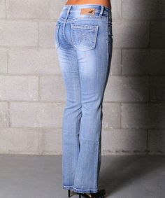 Lola Jeans Medium Wash Leah Stretch Pull-On Bootcut Jeans | Jeans