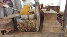 Pole Lathe Turning and Green Woodworking at RHS Wakehurst Place ...