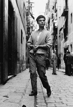 Gay in El Raval, Barcelona. Spanish Eyes, Spanish Art, Social Photography, National Photography, Camilo Jose Cela, Fotografia Social, Barcelona, Brassai, Cecil Beaton