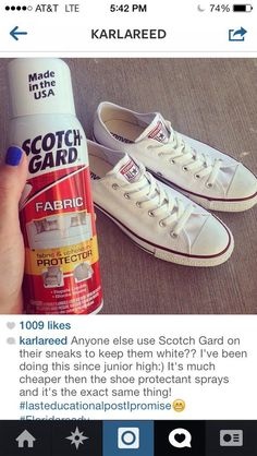 How to keep white shoes white