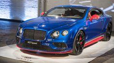 Así luce el Bentley Continental GT Speed en persona en Nueva York - http://www.actualidadmotor.com/bentley-continental-gt-speed-nueva-york/