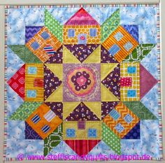...just Quilts: Swoon Village finished