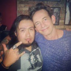 "Con Keith ""Monkey"" Warren de THE ADICTS. #theadicts #punk #rock #keith #monkey #adicts #press #elclubdelrock #eltimdrake"