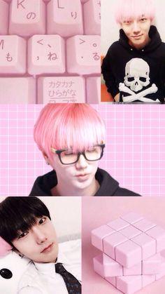 Follow @SuJuPacks on Twitter! #SuperJunior #Super #Junior #Wallpaper #Lockscreen #Yesung #Pink