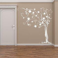 Mural Wall Art, Vinyl Wall Art, Wall Art Decor, Modern Tv Wall Units, House Front Design, Wall Stickers Murals, Wall Colors, Wall Design, Stenciling