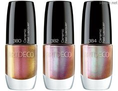 Winter 2013: Artdeco Vintage Glam Collection - Ceramic Nail Lacquers