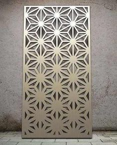 Miles and Lincoln - the UK's leading designer of laser cut screens for decorative interior panels, external architectural cladding, balustrades and ceilings An ombré design Laser Cut Screens, Laser Cut Panels, Laser Cut Metal, Laser Cutting, Metal Mesh, Decorative Metal Screen, Divider Screen, Grill Design, Door Design