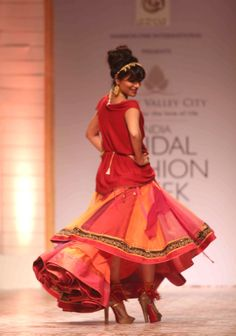 India Bridal Fashion Week 2013: Chitrangada Singh for Azva