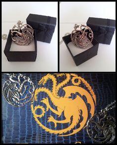 #GoT #Asoiaf #GameofThrones #IlTronodiSpade #Targaryen #Draghi #Collana
