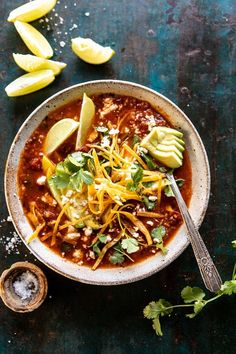 This Crockpot Spicy Vegetarian Tortilla Soup with Quinoa is super easy, full of good for you ingredients, and so delicious. Just toss everything into your crockpot (or instant pot) and cook low and slow all day. Healthy Slow Cooker, Slow Cooker Recipes, Soup Recipes, Crockpot Quinoa, Baby Recipes, Potato Recipes, Healthy Meals, Free Recipes, Healthy Recipes