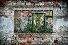war damaged house. bosnia.