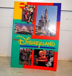 #Disney #Book #EuroDisney #Album #Souvenirs #Memories @LauryRow     Like my page here :: https://www.facebook.com/pages/Disneycollecbell/603653689716325?sk=timeline