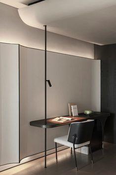 Hotel Interiors, Office Interiors, Study Room Design, Boffi, Office Interior Design, Cabinet Design, Ceiling Design, Interior Inspiration, Interior Architecture