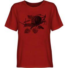 Mintage Garden Snail Youth Fine Jersey T-Shirt