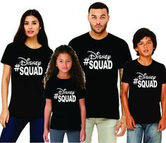 Family Disney Shirts - Disney Squad (Baby-Adult)