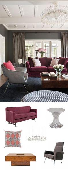 marsala feminine living room   #adoredecor #homedecor #interiordesign #decor #design