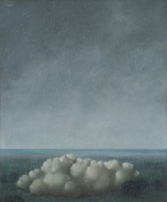 René Magritte, Song of the Storm, 1937