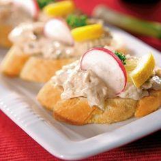 Ředkvičková pomazánka Snack Recipes, Snacks, Tasty Dishes, Mashed Potatoes, Eggs, Breakfast, Ethnic Recipes, Food, Kitchens